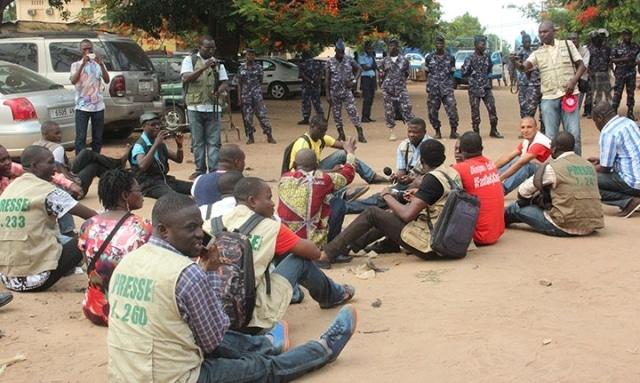 Journalistes Togo
