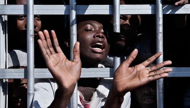 Esclaves en Libye