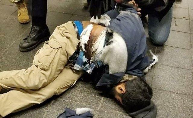 4 blessés selon les pompiers — Explosion de Manhattan