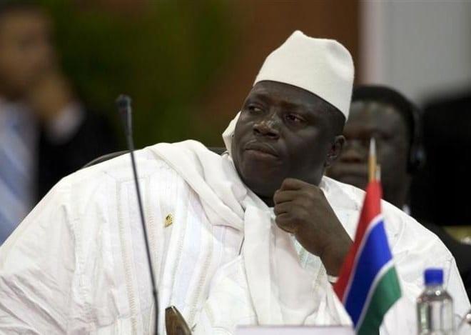 Des sanctions américaines planent sur la tête de Yahya Jammeh — Gambie