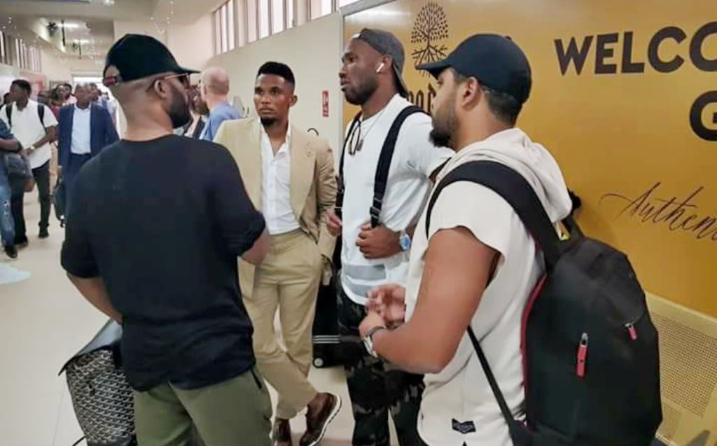 Fally Ipupa, Samuel Eto'o, Didier Drogba: le trio de choc dans les rues d'Abidjan !