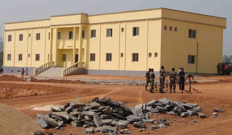 Inauguration de la base logistique continentale — Cameroun