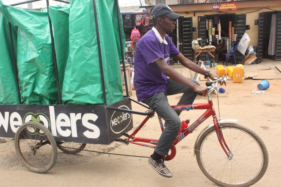 Nigéria :une start-up commercialise les déchets