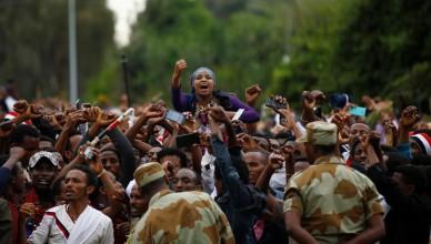 Prisonnier Ethiopie