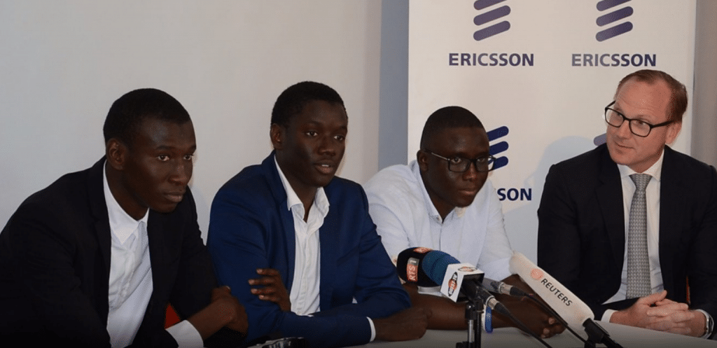 s n gal 4 tudiants d crochent les prix ericsson innovation awards 2018 africa top success. Black Bedroom Furniture Sets. Home Design Ideas