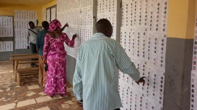 Présidentielle 2020 : 86,6% des Togolais en âge de voter se sont inscrits