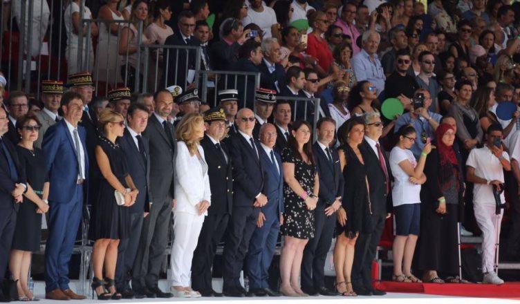 France Anniversaire De Lattentat Du 14 Juillet à Nice Africa