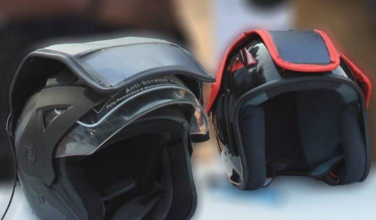 a11655c300329 Latiwo Helmet »: le casque solaire de rechargement de téléphones,  l'invention d'un jeune Togolais