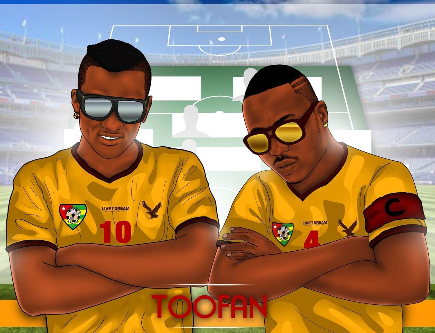 0ac1d27c3 Toofan: comment le football a réuni le groupe - Africa Top Success