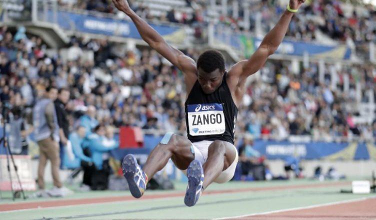 detailed look 761fb da160 Hugues Fabrice Zango, le nouveau champion d Afrique de triple saut