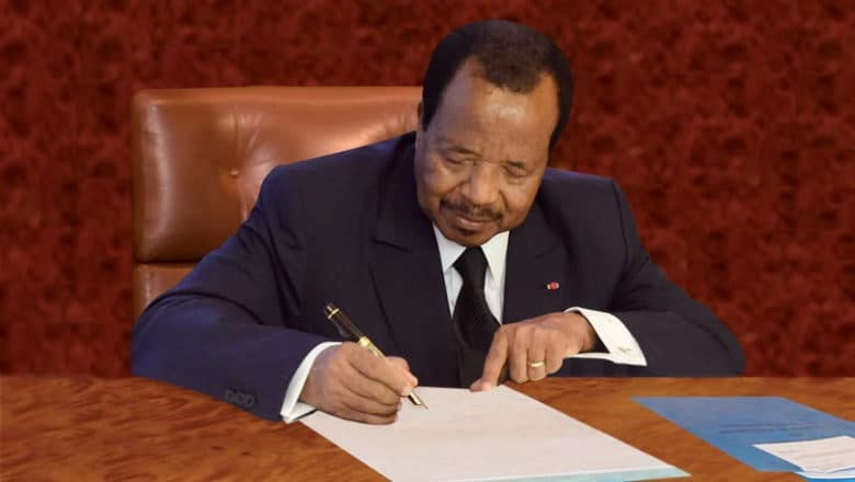 Successeur De Révélé CamerounLe Paul Accidentellement Par Biya iPXZukOT