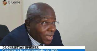 Dr Christian Spieker: «aucun allemand n'investira au Togo sans réformes et élections transparentes»