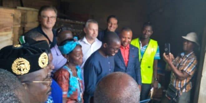 Togo: des apiculteurs de Danyi dotés de matériels par le MIFA SA et KKWA