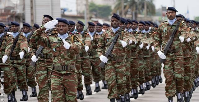 Armée: le gouvernement béninois autorise le recrutement de 1100 agents