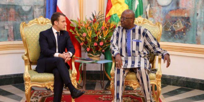 'Mouvement antifrançais' : Kaboré répond à Macron