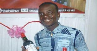 Kangni Djiwonou, le jeune togolais qui produit du vin