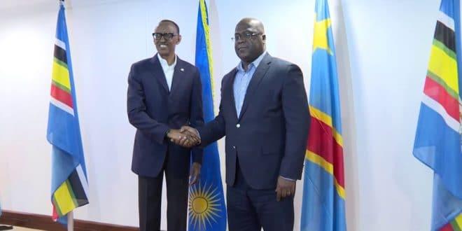 Tshisekedi et Kagame, une 'intimité' qui fait jaser en RDC (photo)