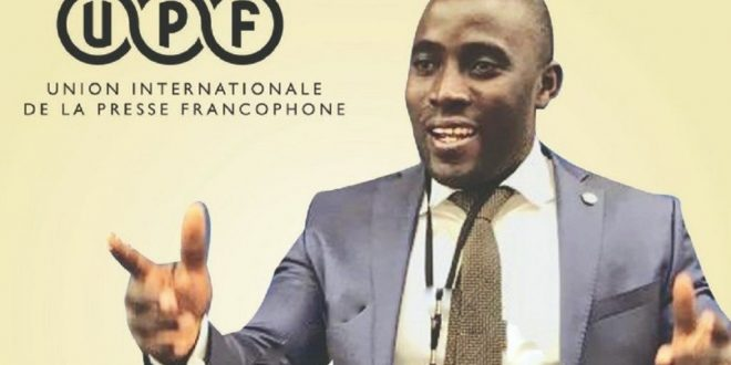 Covid-19 : l'UPF-Togo distribue des masques aux journalistes