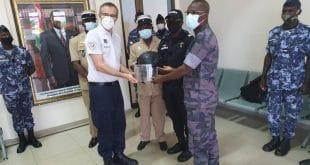 Togo : coopération française, des casques de protection à la gendarmerie
