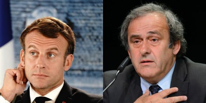 France: affaire Michel Platini, Médiapart cite Emmanuel Macron