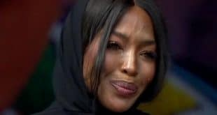 Naomi Campbell : le S.O.S de la top model depuis Paris