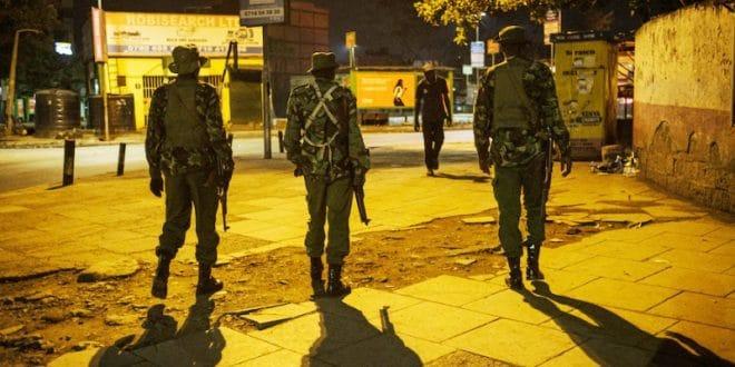 policier kenyan