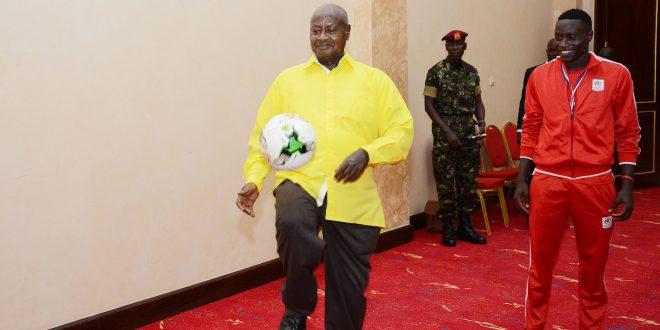 Ouganda : le président Museveni encore en mode sport (Vidéo)