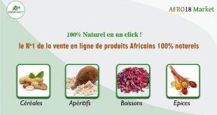 Afrique : Afro18 Market,  champion de la vente en ligne de produits naturels