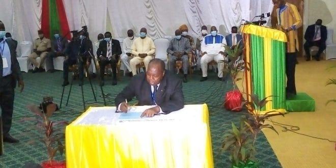 Burkina: Présidentielle, ce «pacte» signé par les candidats