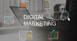 Activités de publicité dans les communications de marketing numérique